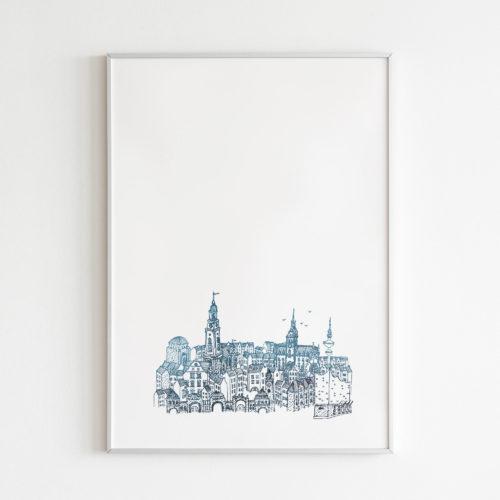 Poster Hamburg